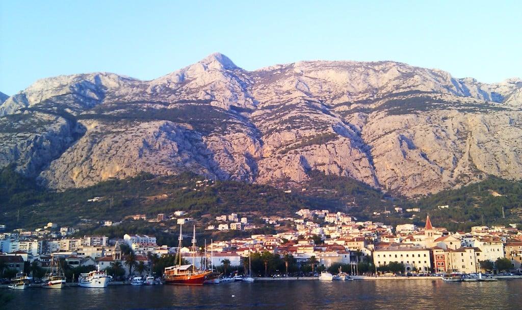 Makarska panorama, pogoda chorwacja, pogoda w chorwacji, pogoda w chorwacji makarska