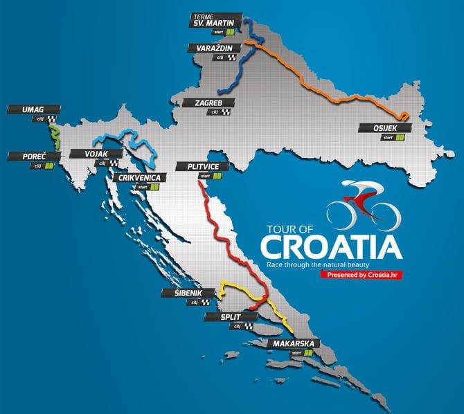 Wyścig kolarski Chorwacja