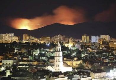 Pożary w Chorwacji