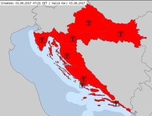 Red Alert w Chorwacji