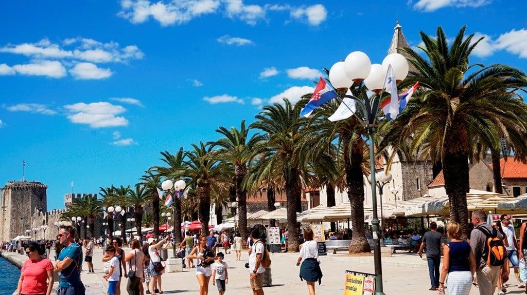 Riva w Trogirze
