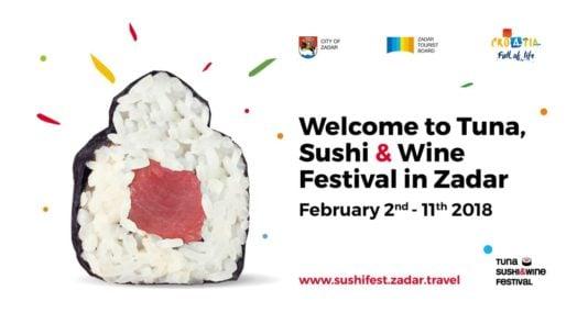 Festiwal Tuna, Sushi & Wine Festival Zadar