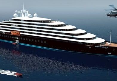 6 gwiazdkowy jacht Scenic Eclipse zwodowany w Puli