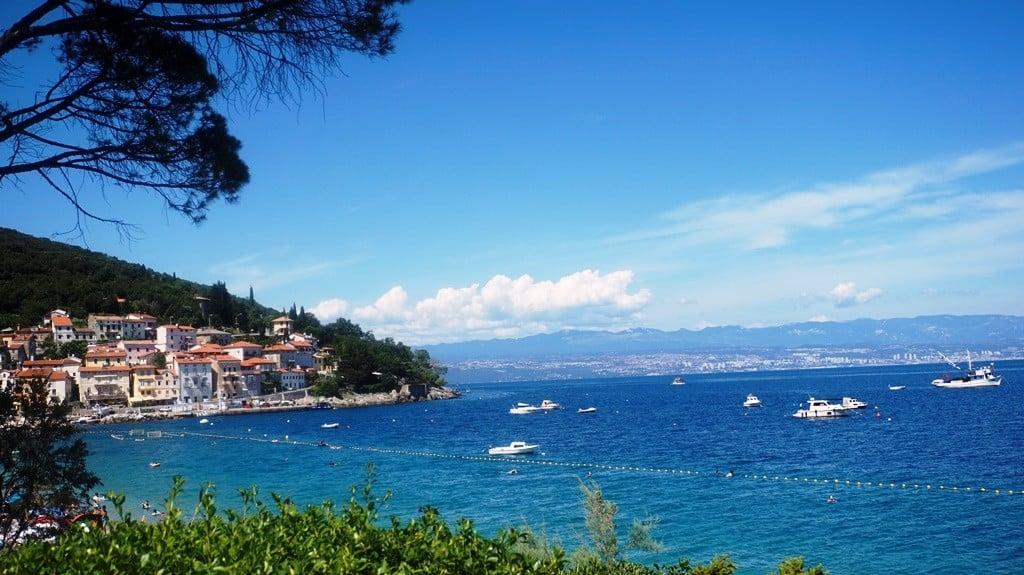 Moscenicka Draga Chorwacja, chorwacja plaże, kvarner