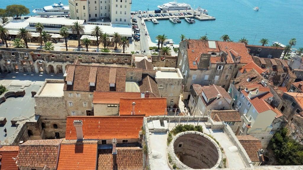 Split Chorwacja Panorama
