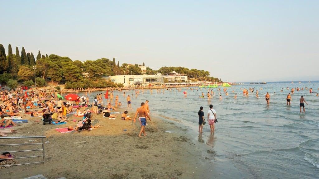 Split Chorwacja Plaża Bacvice