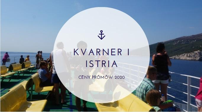 Rozkład promów Kvarner i Istria 2020