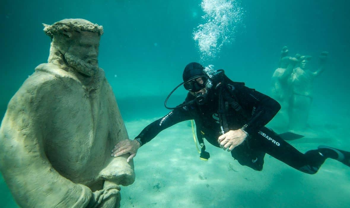 Podwodna atrakcja Trogiru