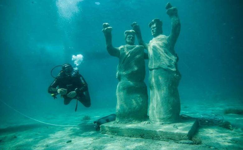 Atrakcja turystyczna Trogir podwodne atrakcje