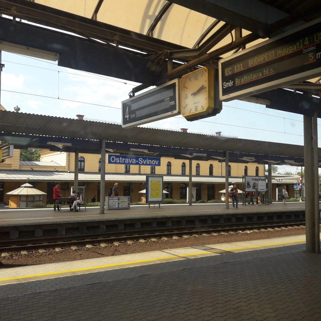 ostrava czechy dworzec pkp