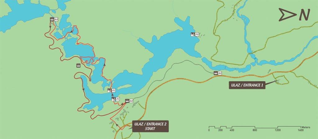 mapa jezior