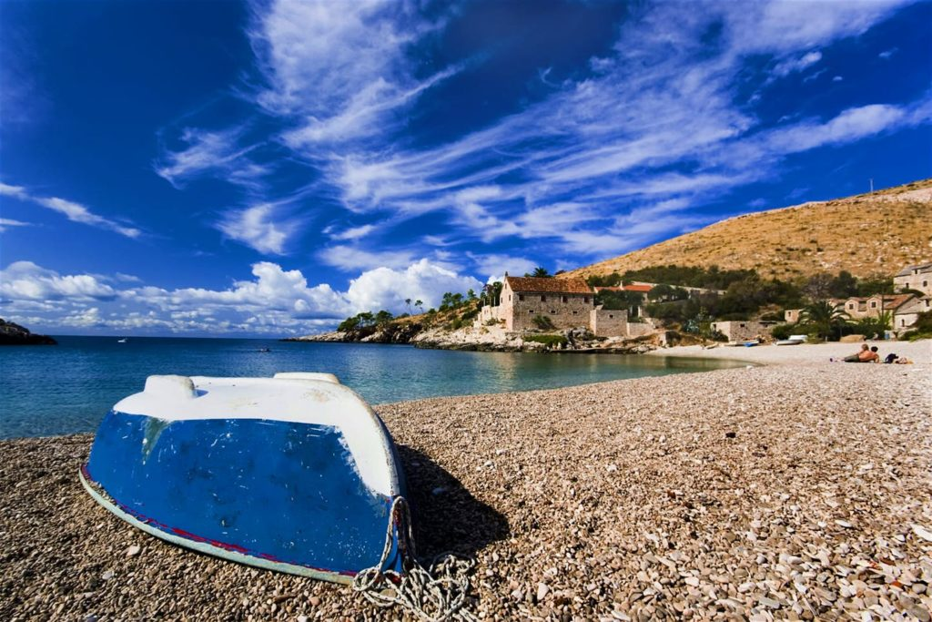 Plaża Dubovica, wyspa Hvar