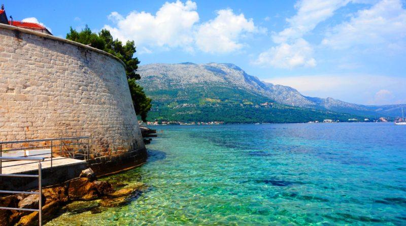 Korcula, morze Adriatyckie, Stare Miasto Korcula
