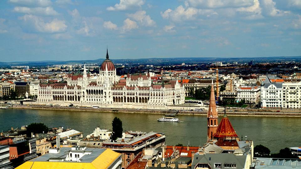 Parlament w Budapeszcie, WĘGRY, Budapeszt, Dunaj,