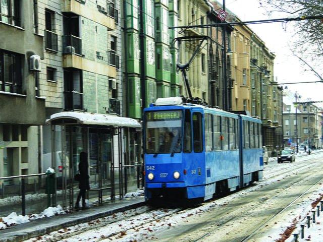 transport publiczny w Chorwacji, Zagrzeb