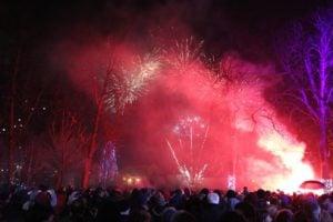 Krlowac, Nowy Rok w Chorwacji