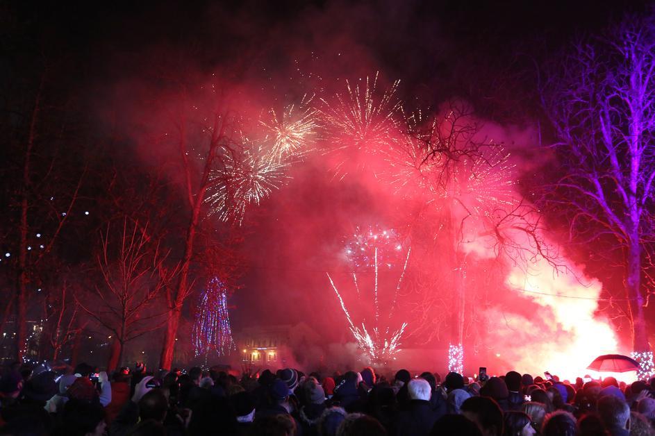 Karlovac, Nowy Rok w Chorwacji