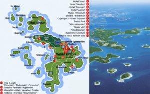 Brijuni, wyspy brionskie, istria chorwacja
