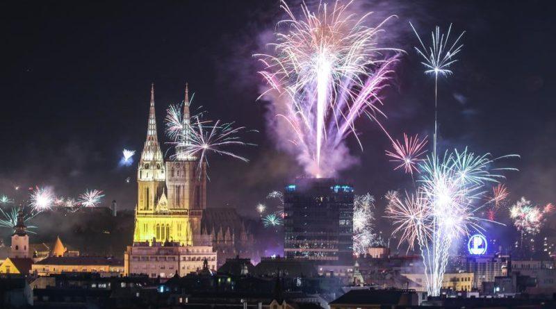 Nowy rok w Chorwacji, Zagrzeb