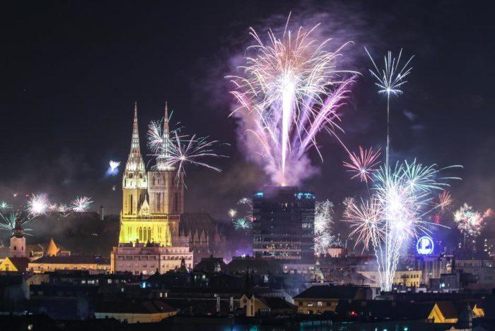 Nowy rok 2019 w Chorwacji, Zagrzeb