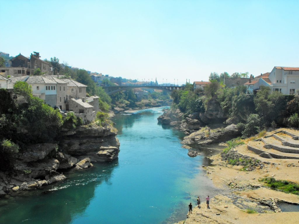 Neretwa w Mostarze