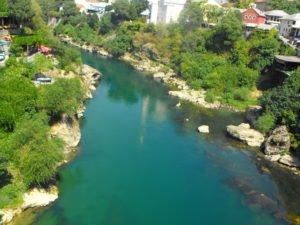 rzeka neretwa mostar