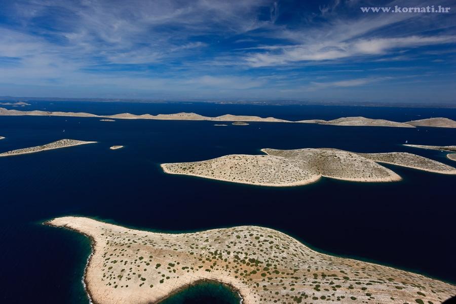 Kornati Wyspy Chorwacji