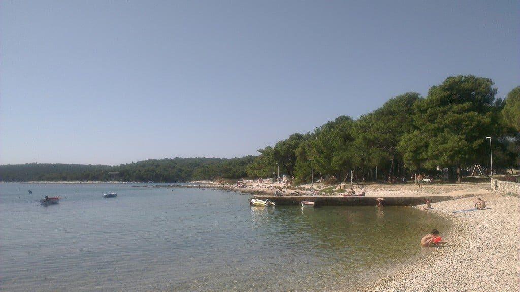 Plaża w Artatore Chorwacja
