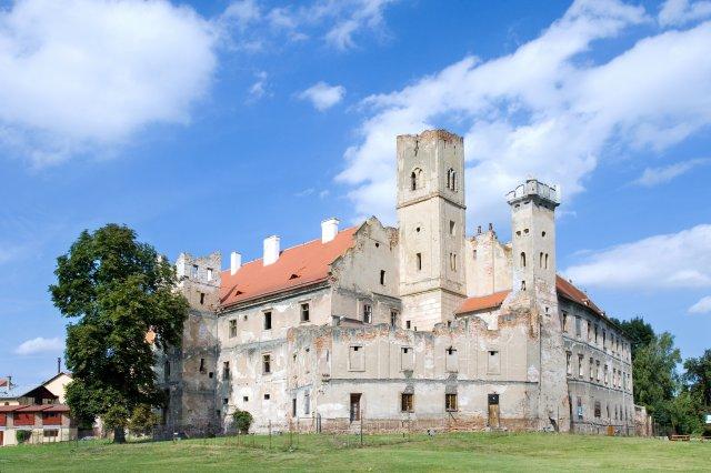 zamek, Breclav, Jizni Morava, Ceska republika