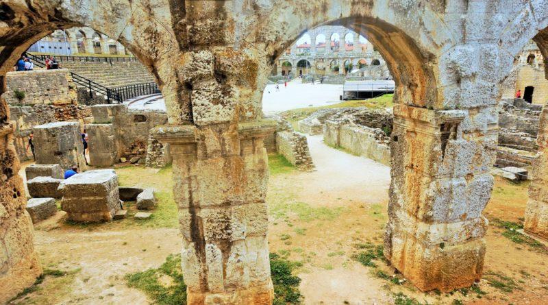 Pula, amfiteatr