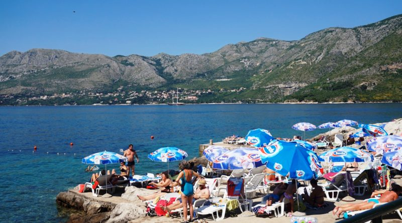 Chorwacja, Cavtat plaża