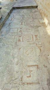 Brac, Supetar,Bizantyjska mozaika Supetar