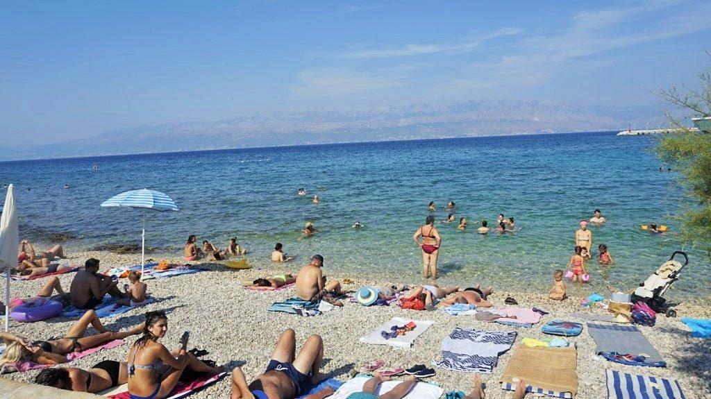 Plaża Wyspa Brac