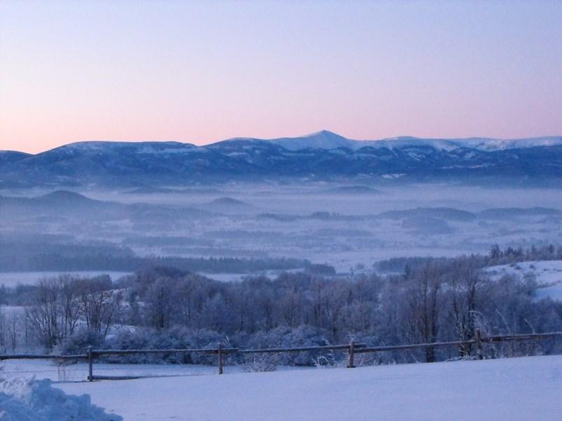 Panorama na Karkonosze