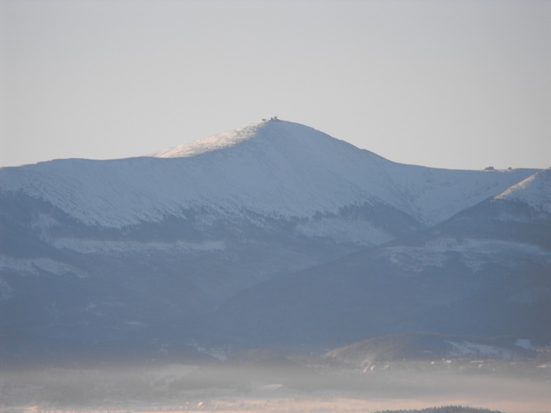 Śnieżka - panorama, Śnieżka, Śnieżka karkonosze