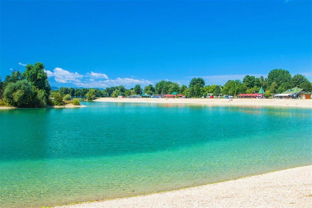 Jezioro Jarun - Zagrzeb, Stolica Chorwacji - Zagrzeb, zagrzeb