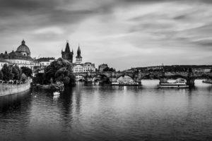 Most Karola Praga, Panorama Praga, Praga Czechy, pixabay.com