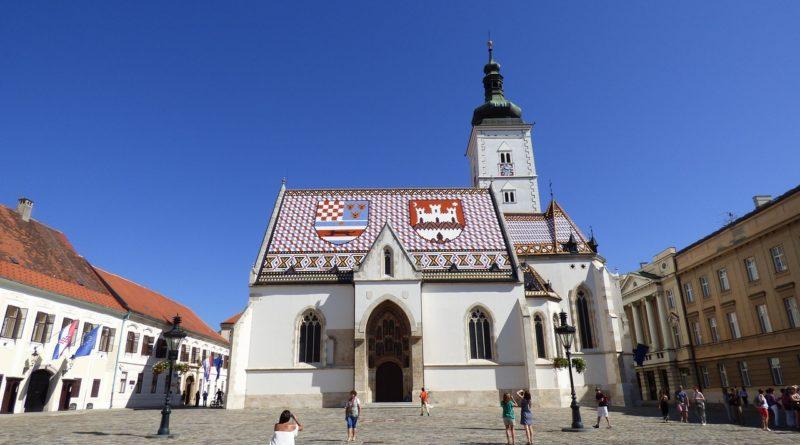 Stolica Chorwacji Zagrzeb, Kościół sw Marka