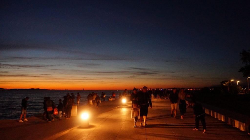 Zadar Pozdrowienie Słońca oraz Organy Morskie