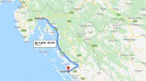 Trasa Rijeka Zadar
