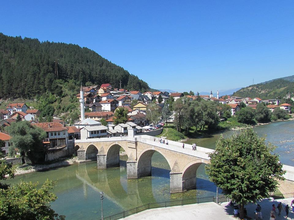 Miasteczko Konjic Bośnia i Hercegowina