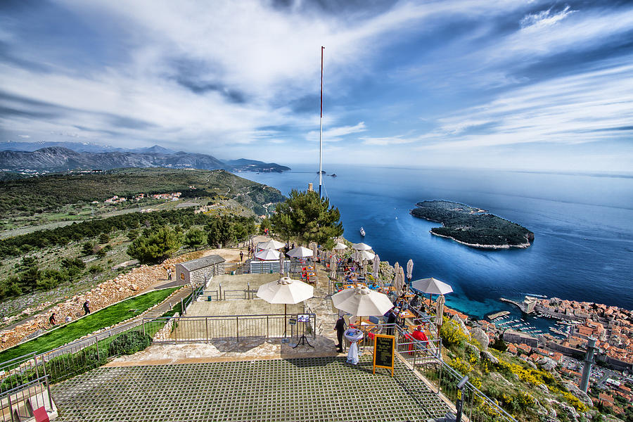 Wzgórze Srd Dubrownik Chorwacja