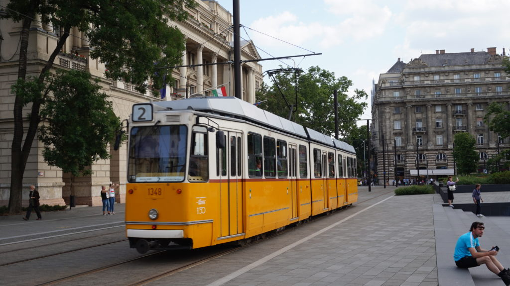 Tramwaj nr 2 Budapeszt