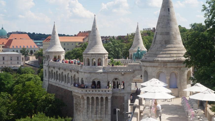 Góra zamkowa w Budapeszcie