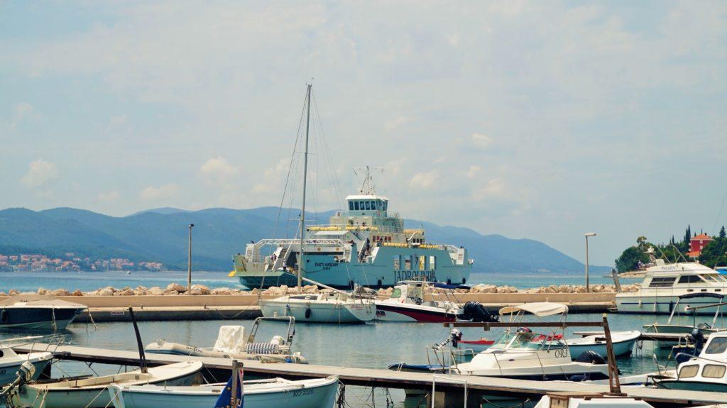 Dalmacja Południowa, Split Chorwacja, Prom Jadrolinja w Orebic