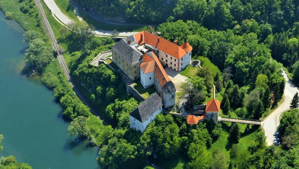 Zamek Ozalj Chorwacja