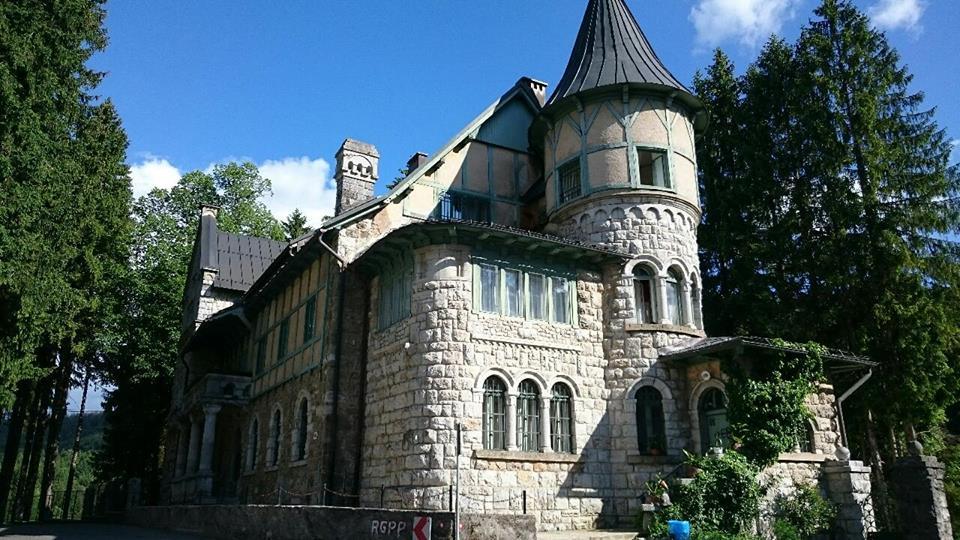 Zamek Stara Sušica Chorwacja