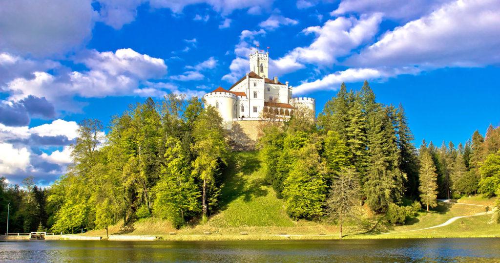 Zamek Trakoscan Chorwacja