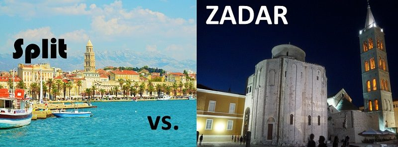 Split czy Zadar