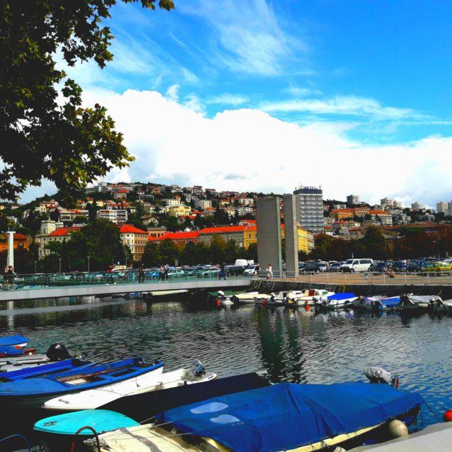 Rijeka panorama miasta